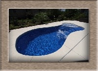 Mandalay Bay Fiberglass Pool and Spa in Center Moriches, NY