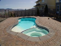 Mandalay Bay Fiberglass Pool and Spa in Brentwood, NY